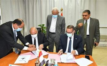 بروتوكول تعاون بين محافظة قنا وهيئة المساحة لحماية أراضي الدولة وتخطيط الأحوزة العمرانية| صور