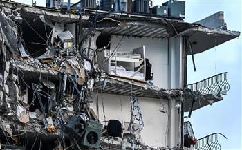 طواقم الإنقاذ تغادر موقع برج ميامي ديد بفلوريدا  المنهار
