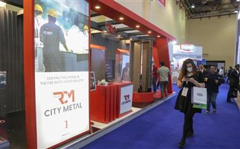 شركة رضوان سيتي ميتال «RCM» تشارك بمعرض «بيج 5 مصر للبناء»