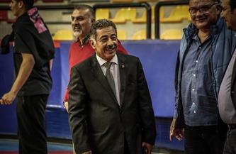 اتحاد السلة يتابع مستجدات تجهيز صالة برج العرب