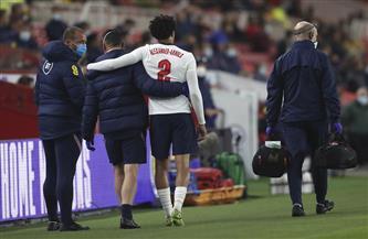 ألكسندر أرنولد خارج تشكيلة إنجلترا بسبب الإصابة