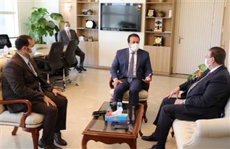 وزير التعليم العالي يوقع عقد اتفاق تنفيذ إنشاء حرم جامعي جديد للجامعة الأهلية الفرنسية بمصر |صور