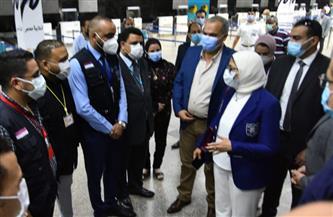 وزيرة الصحة: مخزون المستلزمات الطبية والوقائية يكفي 6 أشهر