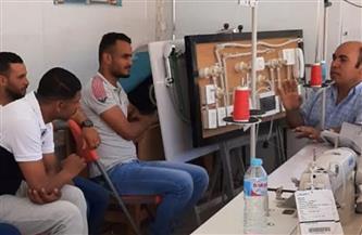 افتتاح أولى الدورات التدريبية بوحدة التدريب المتنقلة بالإسكندرية