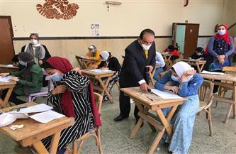 انتهاء الأسبوع الأول من امتحانات الفصل الدراسي الثاني بـ «نوعية طنطا» | صور