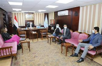 نائب محافظ كفر الشيخ يناقش عددا من الملفات مع وفد الأكاديمية الوطنية للتدريب  صور