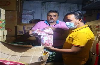 ضبط طن رنجة و400 كيلو لحم مفروم غير صالح في حملة بميت غمر |صور