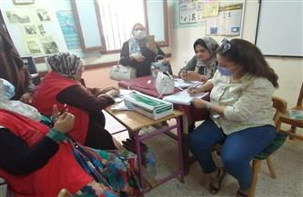 """""""صحة الفيوم"""": تطعيم 158 من المشاركين في أعمال المراقبة والامتحانات بإدارة شرق"""