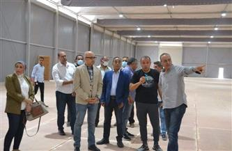 بدء تجهيزات معرض القاهرة الدولى للكتاب بالدورة 52 |صور