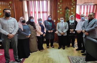 """""""صحة كفرالشيخ"""": لجنة من وزارة الصحة لمتابعة مستشفيات العزل"""