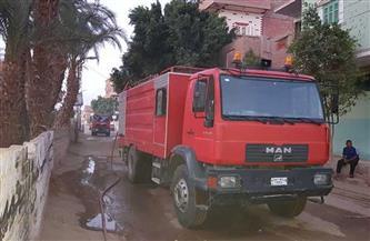 السيطرة على حريق بمصنع للشيكولاتة بمدينة القناطر الخيرية