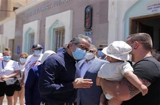 سائحون ألمان يشيدون بتطبيق الإجراءات الاحترازية بجنوب سيناء