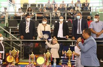 ختام لقاء العروض الرياضية لطلبة كليات التربية الرياضية بالإسكندرية