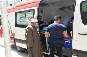 «الأوقاف» بدمياط تنظم حملة تبرع بالدم في «ميت الخولي عبدالله» | صور