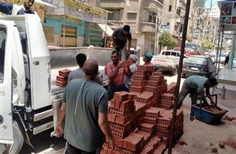وقف أعمال بناء مخالف على الطريق الصحراوي بالإسكندرية