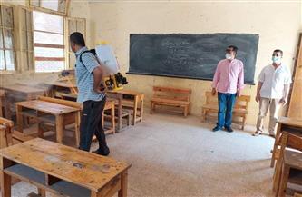 «تعليم مطروح»: تطهير وتعقيم ورش جميع لجان الامتحانات واستراحات المراقبين لمنع انتشار كورونا
