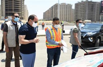 الرئيس السيسي يتابع أعمال تطوير الطريق الدائري حول القاهرة الكبرى | فيديو