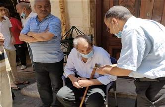 مساعدات عاجلة من التضامن لـ15 أسرة من متضرري ميل 5 عقارات بالإسكندرية