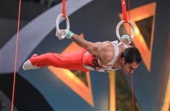علي زهران لاعب الجمباز المصري: هدفي تحقيق الميدالية الذهبية ببطولة العالم