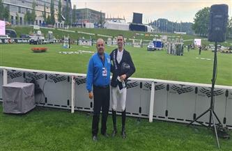 نايل نصار يحقق ذهبية بطولة الجائزة الكبرى للفروسية بسويسرا