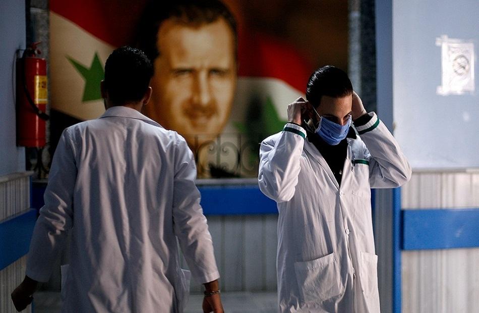 سوريا تسجل  وفاة و  إصابة جديدة بفيروس كورونا