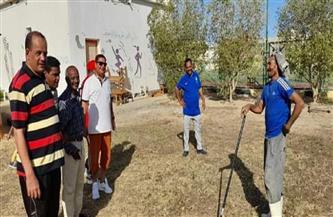 وكيل وزارة الشباب والرياضة بالبحر الأحمر يتفقد أعمال تطوير مركز شباب مرسى علم| صور