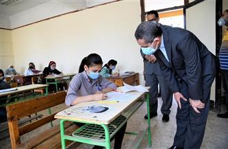 87 ألف طالب يؤدون امتحانات الشهادة الإعدادية في 447 لجنة بالغربية| صور