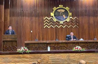 تفاصيل لقاء وفد تنسيقية شباب الأحزاب والسياسين مع وزير الرى والموارد المائية | صور