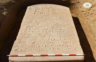 """ذُكر اسمه في التوراة.. """"لوحة الإسماعيلية"""" تكشف لغز الملك المصري الغامض """"واح إيب رع""""   صور"""