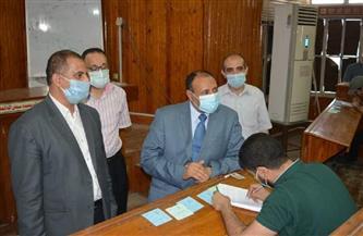 نائب رئيس جامعة الأزهر فرع أسيوط يتابع امتحانات الفصل الدراسي الثاني | صور