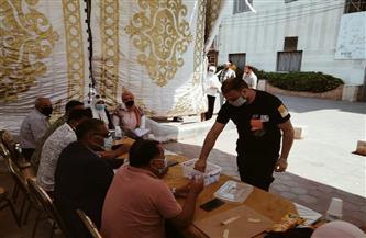 إجراء قرعة علنية لتسكين الوحدات التجارية بسوق النيل الحضاري في رأس البر   صور