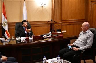 وزير الرياضة يطلع على الاستعدادات النهائية لبطولة العالم للخماسي الحديث