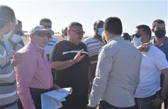 """محافظ البحر الأحمر: دراسة متكاملة عن مشروع  """"ريفيرا سهل حشيش"""" لعرضها على رئيس الوزراء"""