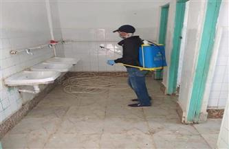 تطهير مدارس العامرية بالإسكندرية للوقاية من كورونا