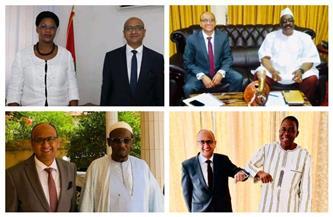 سفير مصر في واجادوجو يلتقي مستشار الرئيس البوركيني للشئون الإسلامية