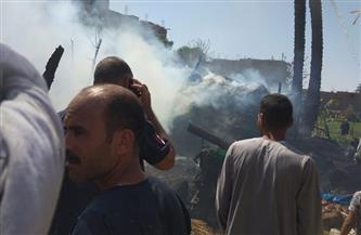 «الحماية المدنية» تسيطر على حريق بحوش منزل فى الزينية بالأقصر | صور