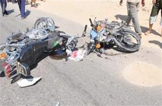 مصرع وإصابة شخصين في حادث تصادم دراجتين بخاريتين بمدينة إسنا