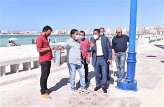 محافظ مطروح: زيادة أعداد دورات المياه بالشواطئ  لخدمة المصطافين | صور