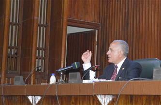 وزير الري يوضح المشروعات القومية الكبرى لترشيد استخدام المياه وتعظيم العائد من كل وحدة |صور