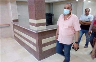 وكيل وزارة الصحة بالبحر الأحمر يتفقد أعمال تطوير مستشفى  حميات الغردقة  صور