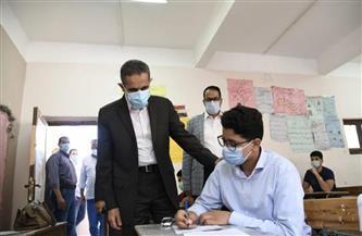 محافظ الغربية يتابع سير امتحانات الشهادة الإعدادية  صور
