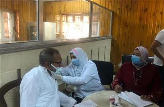 وكيل صحة الغربية يتابع مراكز تطعيم المواطنين بلقاح كورونا| صور