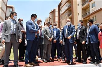 """الإسكان: 85% نسبة تنفيذ 29450 وحدة سكنية بـ""""سكن لكل المصريين"""" بحدائق العاصمة   صور"""