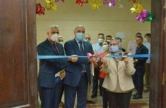 افتتاح معمل بحوث المنتجات الطبيعية بكلية الصيدلة بجامعة الفيوم  صور