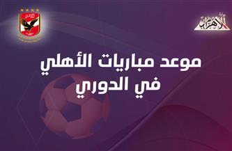 مواعيد مباريات الأهلي المتبقية في الدوري الممتاز | إنفوجراف
