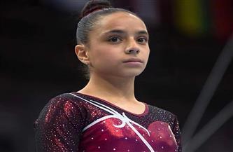 زينة إبراهيم تتوج ببرونزية جهاز عارضة التوازن في كأس العالم للجمباز الفني