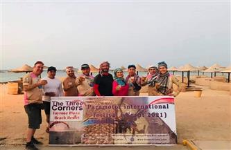 مرسى علم تستضيف مهرجان باراموتور الدولي (مصر 2021)  صور