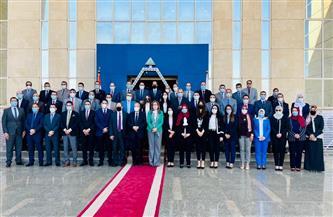 اختتام الدورة التدريبية المتخصصة لـ 125 من المستشارين أعضاء النيابة الإدارية بمقر الأكاديمية الوطنية| صور