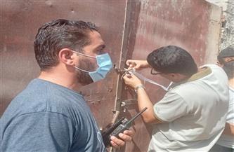 صحة سوهاج:غلق وتشميع عيادة خاصة بها غرفة عمليات مخالفة بجرجا