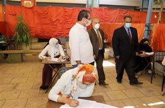 5200 طالب يؤدون امتحانات كلية التربية النوعية بجامعة عين شمس| صور